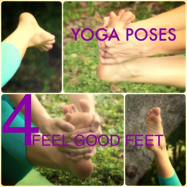 Yoga Poses 4 Feet