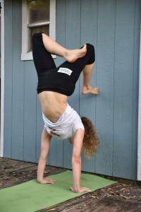 Handstand Scorpion Preparation
