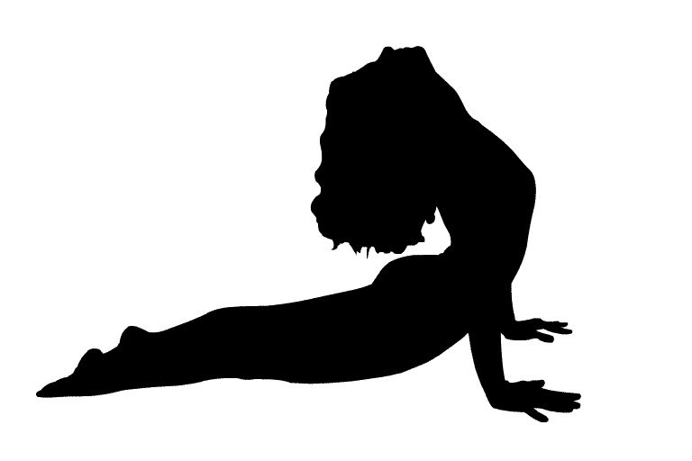 the yoga current logo design
