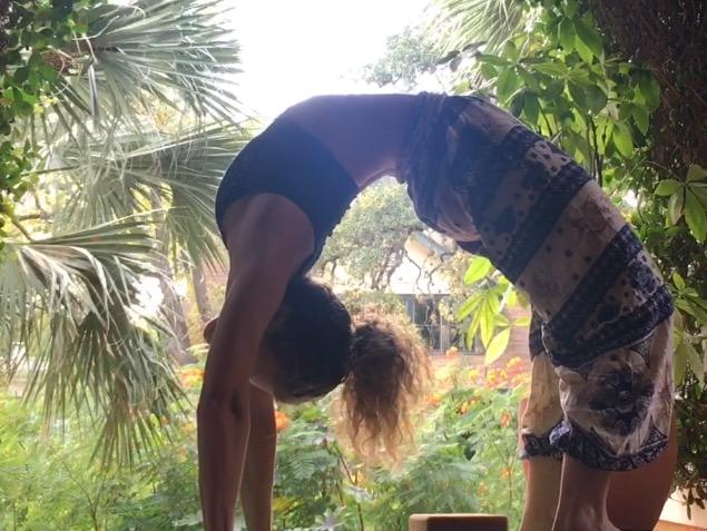 Backbend Courtney Bell Yoga Urdvha Dhanurasna Back Bend Pose