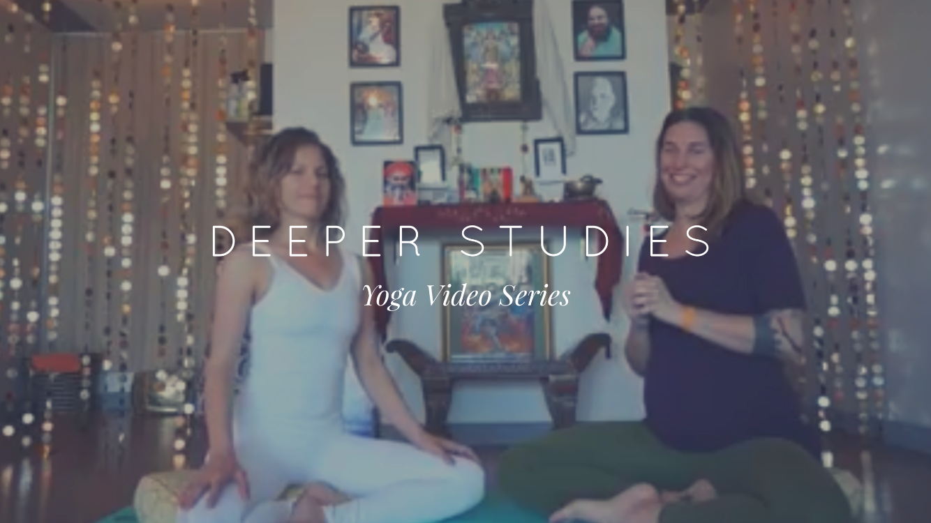 deeper studies in yoga with zoe