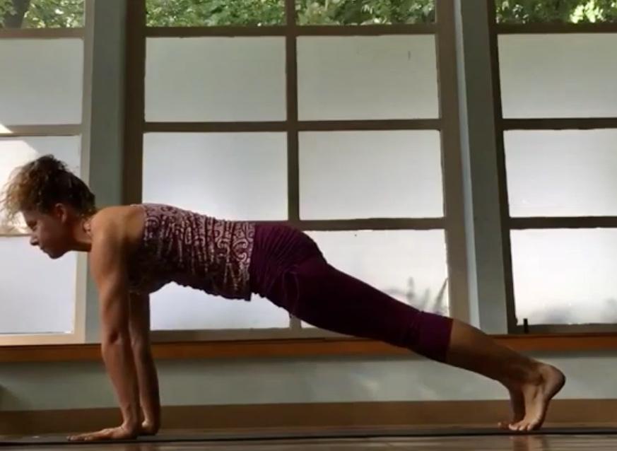 Vinyasa Basics Plank
