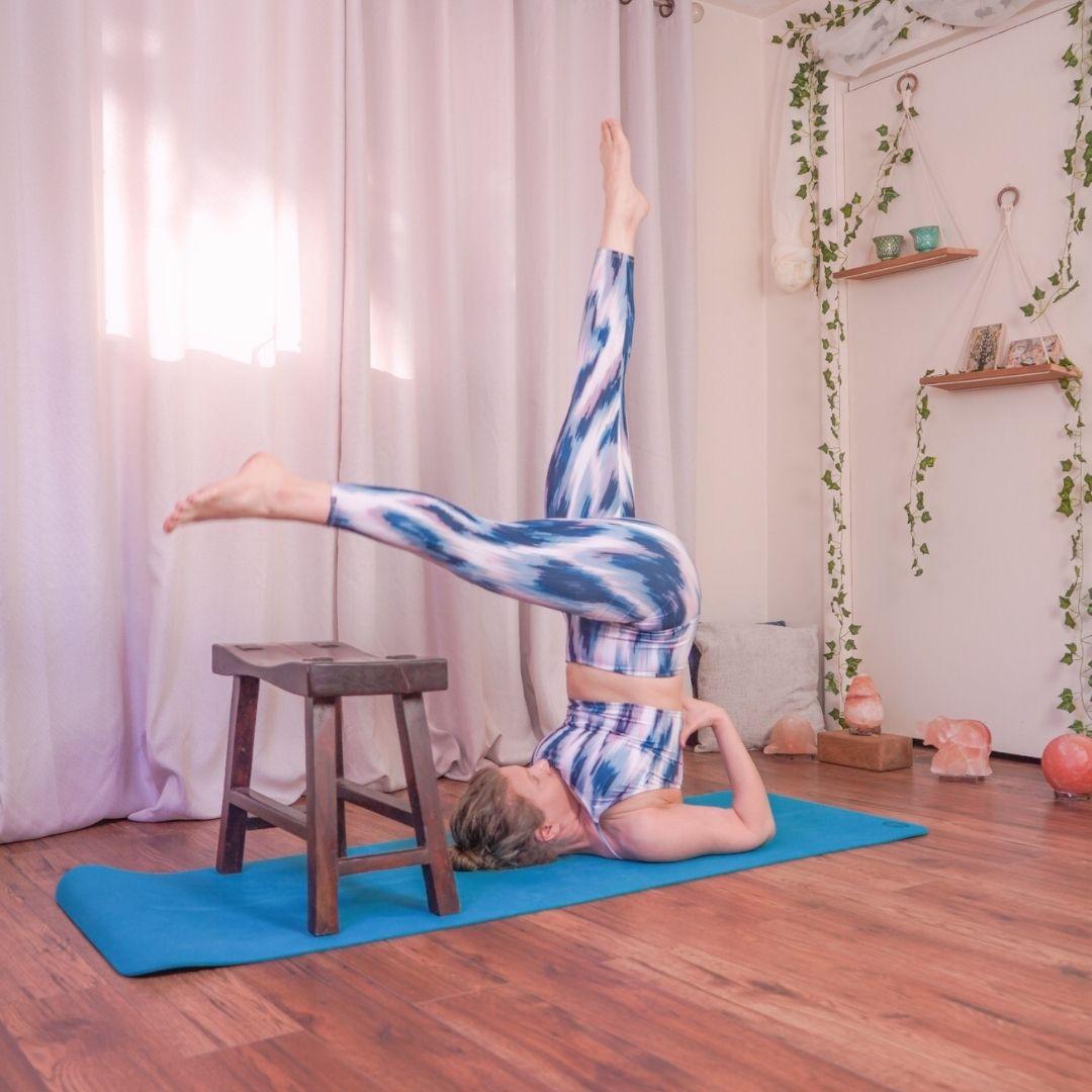 Health Benefits of Yoga Shoulderstand on Endocrine System