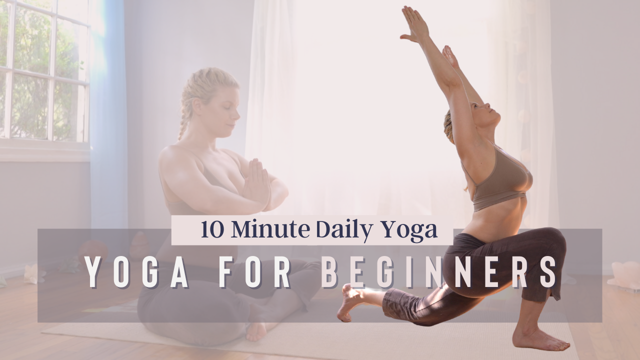 10 Min Yoga for Beginners Yoga with Courtney Bell