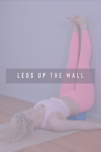 Complimentary Asana Yoga for Back Pain is Legs Up The Wall.